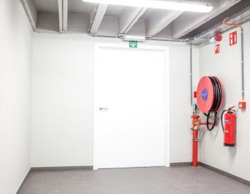 Poste incendie réglementaire pour immeuble de bureaux ou usine à LYON