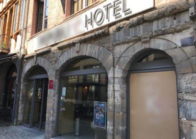 SECURISATION INCENDIE D'UN HOTEL A LYON 69