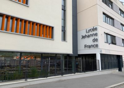 SECURISATION PAR CONTROLE D'ACCES ET VIDEO SURVEILLANCE D'UN LYCEE HOTELLIER JEHANNE DE France LYON 69009
