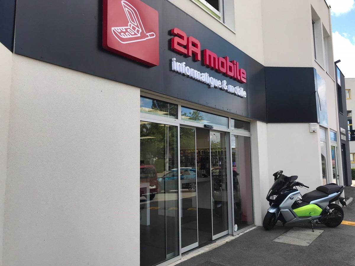 facade du magasin de téléphonie 2A mobile