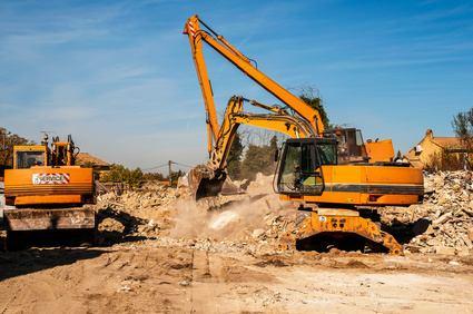 sécurisation pelleteuse de chantier et engins de travaux