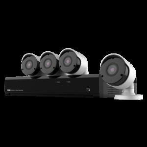 Kit videosurveillance filaire- NV-KIT41-4CAM-5M
