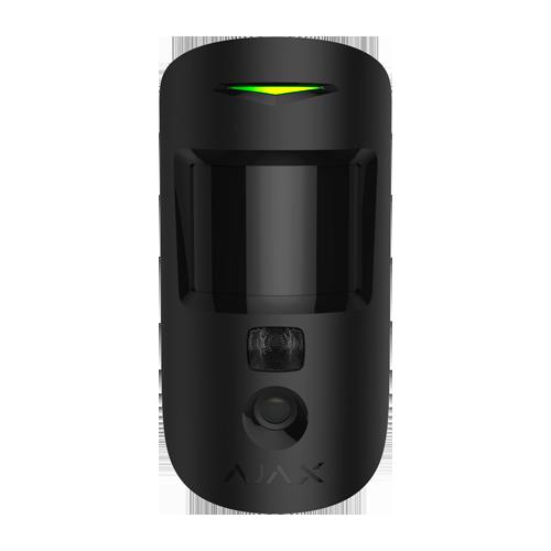 detecteur de mouvement avec camera integree -AJ-MOTIONCAM-B - vue face noir