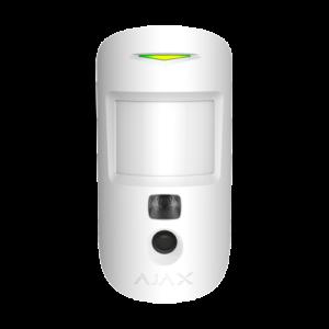 detecteur de mouvement avec camera integree -AJ-MOTIONCAM-W - vue de face devant blanc