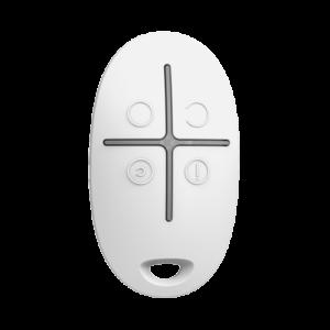 telecommande de controle a distance - AJ-SPACECONTROL-W - blanche vue de face